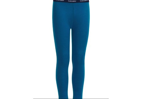 ICEBREAKER ICEBREAKER KIDS 200 OASIS LEGGINGS PRUSSIAN BLUE-401