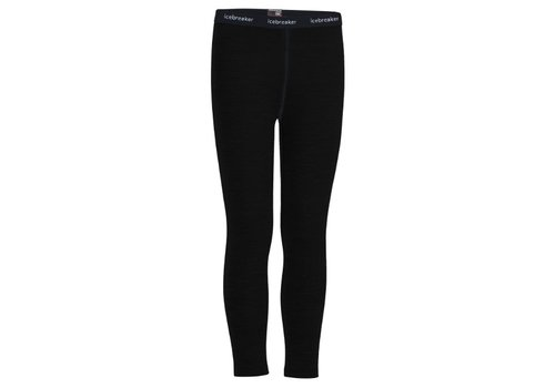 ICEBREAKER ICEBREAKER KIDS 260 TECH LEGGINGS BLACK-1
