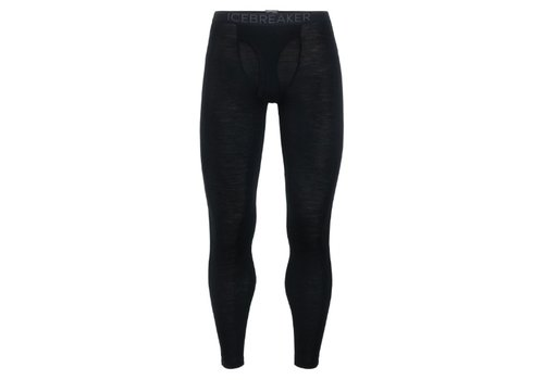 ICEBREAKER ICEBREAKER MENS 175 EVERYDAY LEGGINGS W FLY BLACK-1