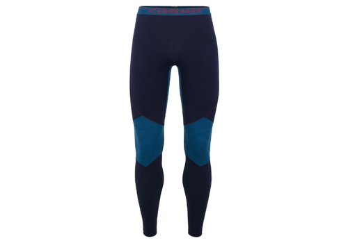 ICEBREAKER ICEBREAKER MENS 260 ZONE LEGGINGS MIDNIGHT NAVY/PRUSSIAN BLUE-401