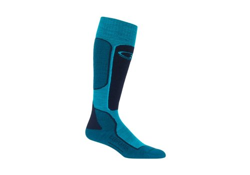 ICEBREAKER ICEBREAKER WMNS SKI+ LIGHT OTC ARCTIC TEAL/MIDNIGHT NAVY/KINGFISHER-405