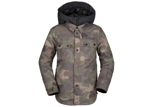 VOLCOM VOLCOM NEOLITHIC INS JACKET CAMOUFLAGE-CAM (982)
