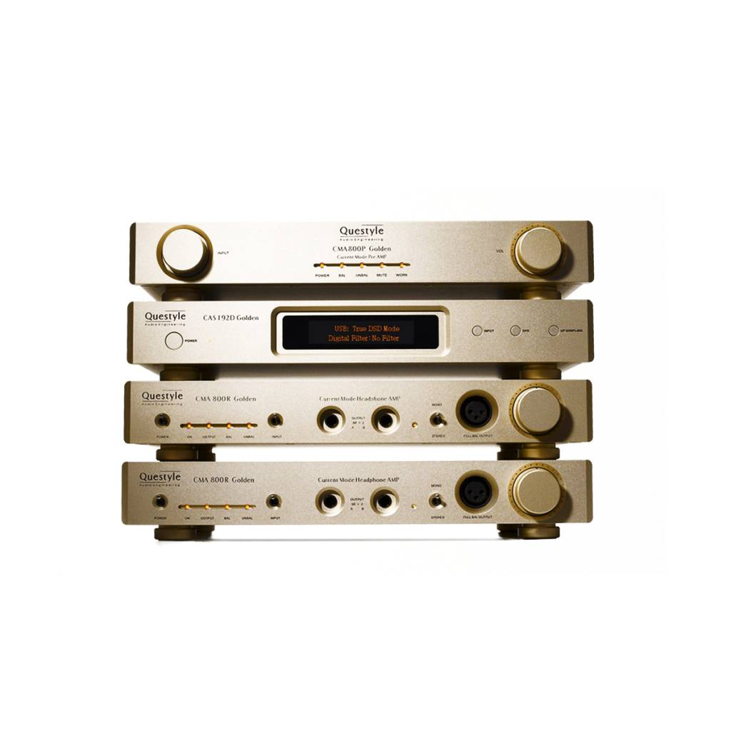 Questyle Audio CMA800R Gold Reference Headphone Amplifier
