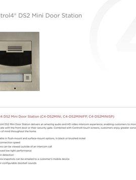 Control4 DS2 Mini Door Station Brushed Nickel