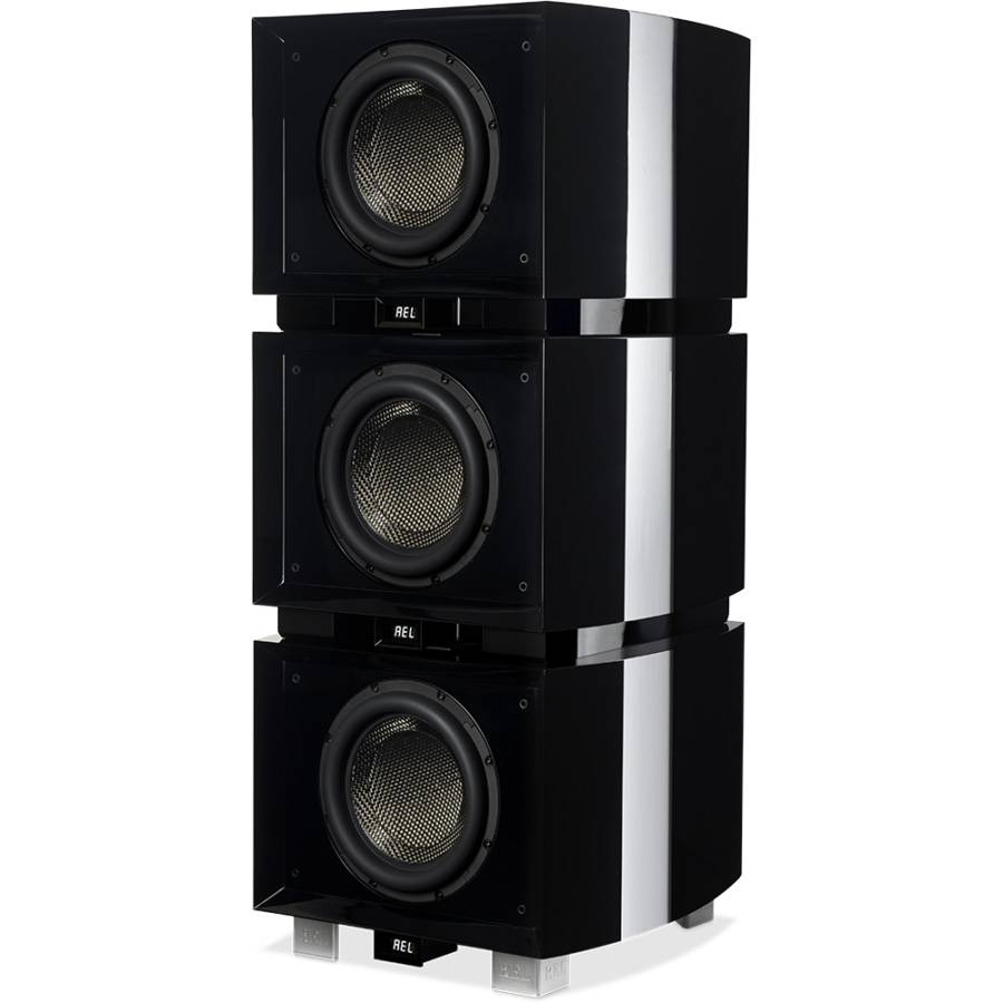 REL Acoustics G1 MKII Reference Subwoofer, Piano Black