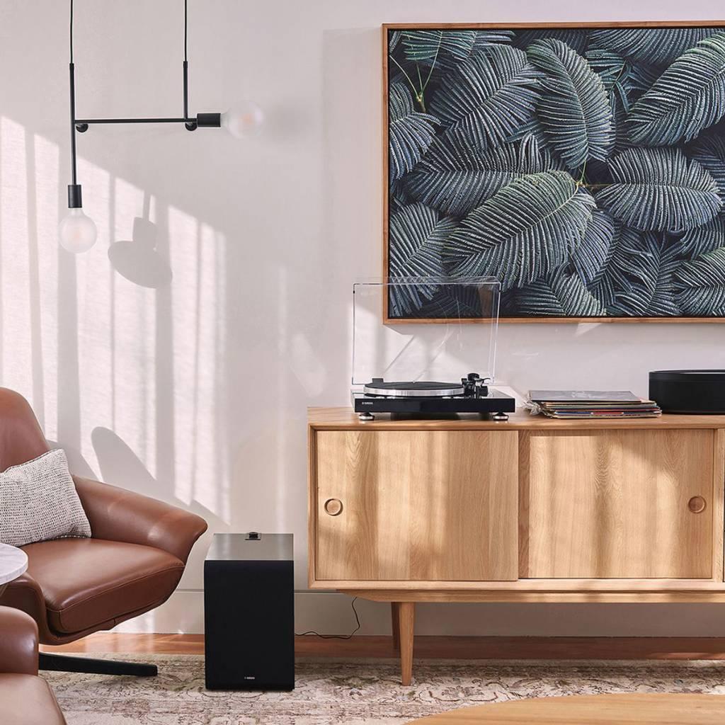 Yamaha TTN503BL MusicCast Vinyl 500 Wifi Turntable