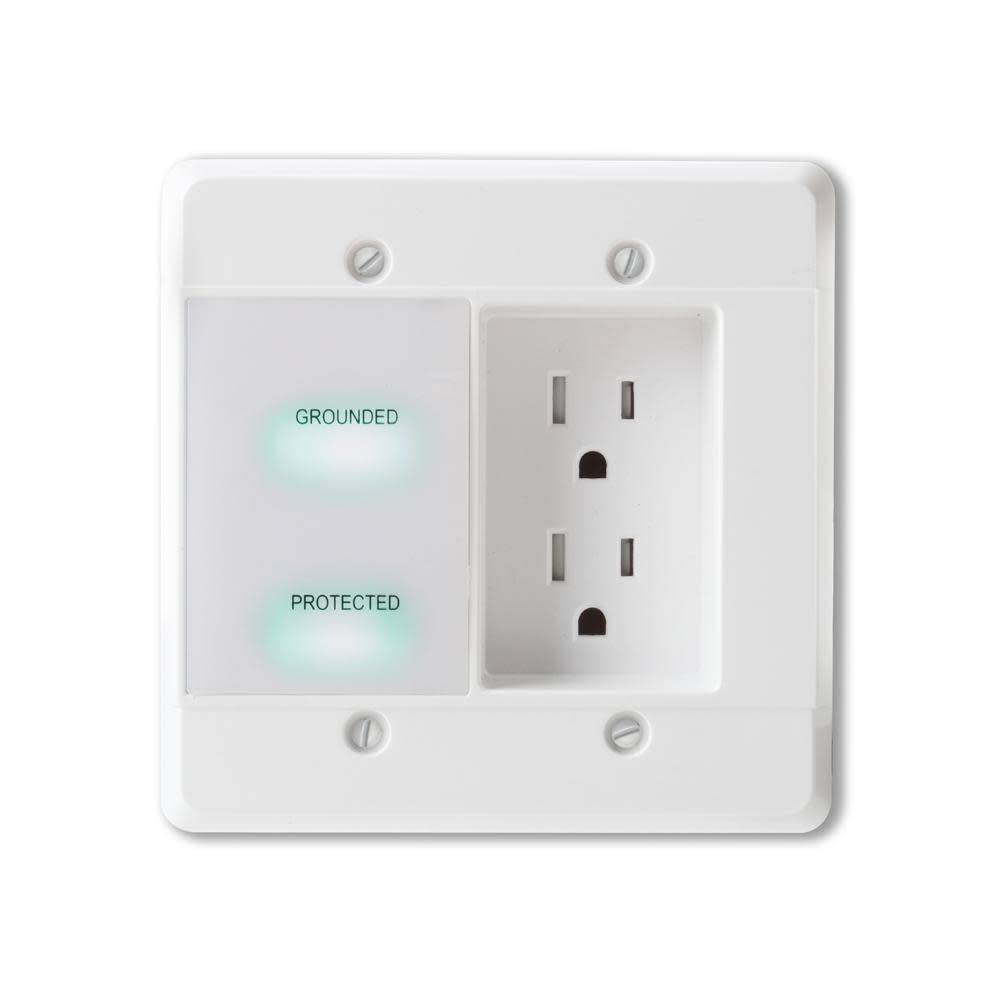 Wattbox In-Wall Power Conditioner - 2 Outlets