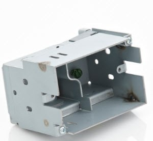 """Control4 5"""" & 7"""" Touch Screen Metal Wall Box, New Construction, C4-NWB57C-M"""