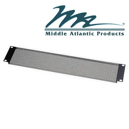 Middle Atlantic Products VTF1 1-Space Fine Perforated Vent Panel