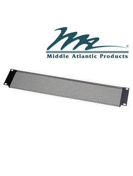 Middle Atlantic Products VTF2 2-Space Fine Perforated Vent Panel
