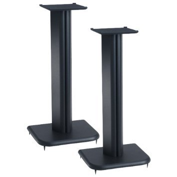 """Sanus 31"""" Speaker Stand with 6.5"""" x 6.5"""" Top Plate, BF31B"""