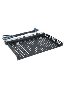 "Middle Atlantic Products U1V 1-Space 1.75"" Vented Universal Rack-shelf"