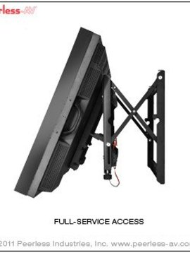 Peerless Mounts AV DS-VW765-Landscape Full Service Video Wall-Mount