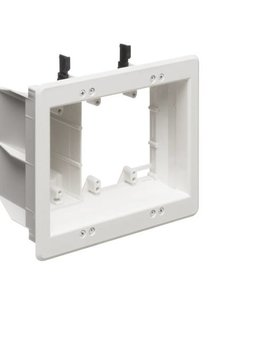 Arlington Triple Gang Recessed TV Box, TVBU507