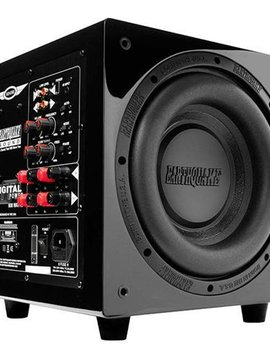 "Earthquake Sound Earthquake MiniMe P10 Version 2 12"" 600 Watt Subwoofer, Black Piano"