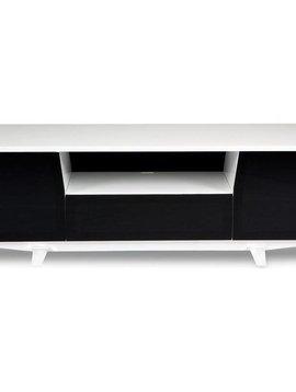 BDI BDI Marina 8729-2W,  TV- Cabinet, Gloss White