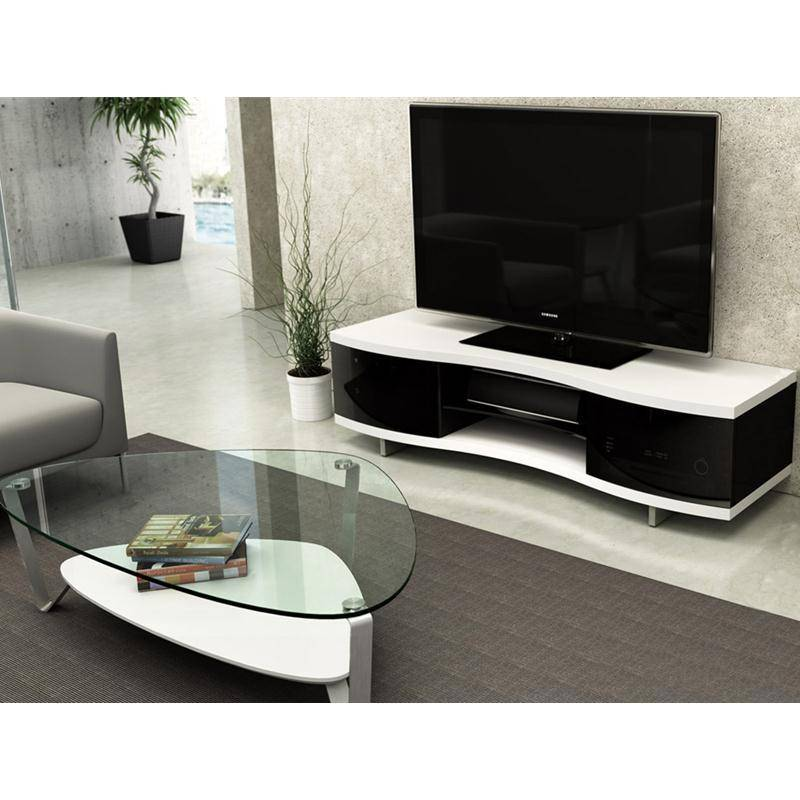 BDI Ola 8137 SW, TV Cabinet, Satin White