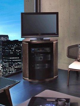 BDI BDI Revo 9980 ES, Swiveling TV- Cabinet, Espresso Stained Cherry