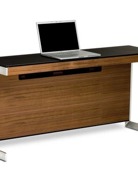 BDI Sequel 6002 WL, Return without back panel, Natural Walnut