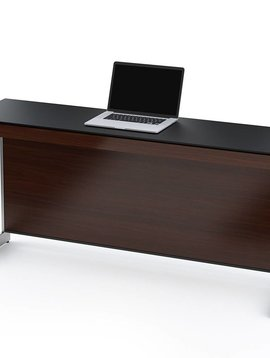 BDI Sequel 6002 CWL, Return without back panel, Chocolate Stained Walnut