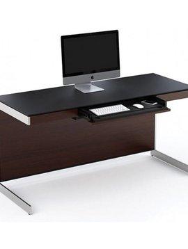 """BDI Sequel 6001 ES, 60"""" Desk, Espresso Stained Oak"""