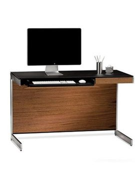 BDI Sequel 6003 WL, Compact Desk ( back panel not included ) Natural Walnut