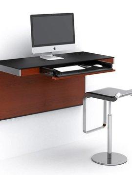 BDI Sequel 6004 CWL, Wall Desk, Chocolate  Stained Walnut