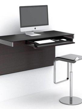 BDI Sequel 6004 ES, Wall Desk, Espresso Stained Oak