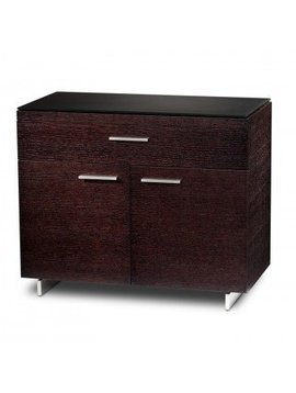 BDI Sequel 6015 ES, Storage Cabinet, Espresso Stained Oak