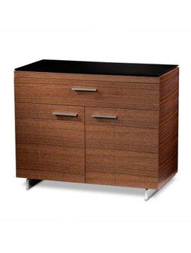 BDI Sequel 6015 WL, Storage Cabinet, Natural Walnut