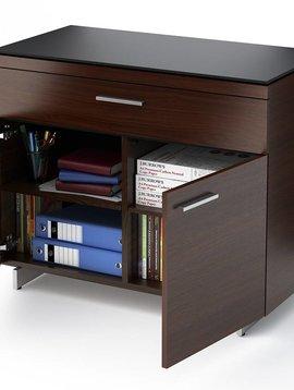 BDI BDI Sequel 6015 CWL, Storage Cabinet, Chocolate Stained Walnut