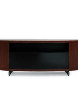 BDI Sweep 8438 CWL, Curved Media Console, Chocolate Stained Walnut