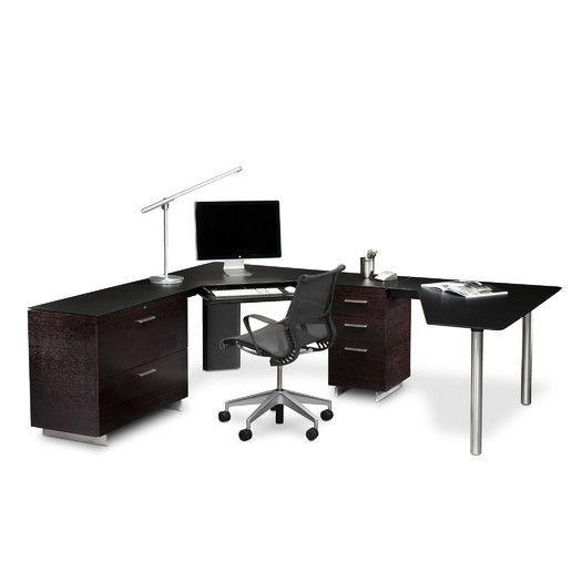 BDI Sequel 6018R Right-facing Peninsula Desk