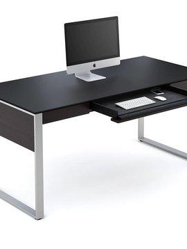 BDI Sequel 6021 ES, Executive Desk, Espresso Stained Oak