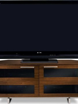 BDI Avion 8925 CWL, Corner TV-Cabinet, Chocolate Stained Walnut