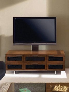BDI Avion 8927 CH, 3 Component Wide TV-Cabinet, Natural Stained Cherry