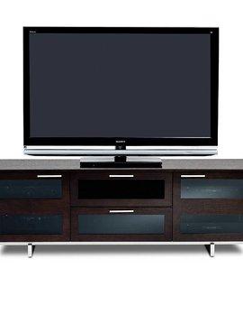 BDI Avion 8927 ES, 3 Component Wide TV-Cabinet, Espresso Stained Oak