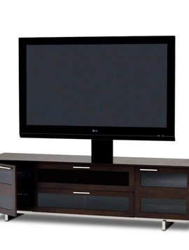 BDI Avion 8929 ES, 4 Component Wide TV-Cabinet, Espresso Stained Oak