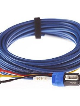 REL Acoustics Baseline Blue 6 Meter Hi Level Cable