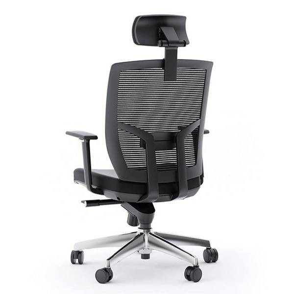 BDI TC 223, Office Chair ( Leather Seat in Black )