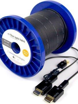 Celerity Technologies Celerity Technologies Detachable Fiber Optic Plenum 60' 4K Hdmi Extender Kit