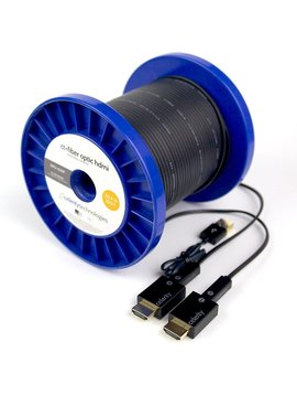 Celerity Technologies Detachable Fiber Optic Plenum 200' 4K Hdmi Extender Kit