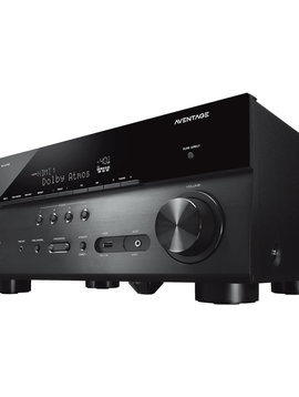 Yamaha RX-A780BL 4K Ready, 7.2 AV Receiver 110 Watts / Channel, DTS-X & HDR