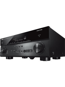 Yamaha RX-A780BL 4K Ready, 7.2 AV Receiver 110 Watts/Channel, DTS-X & HDR