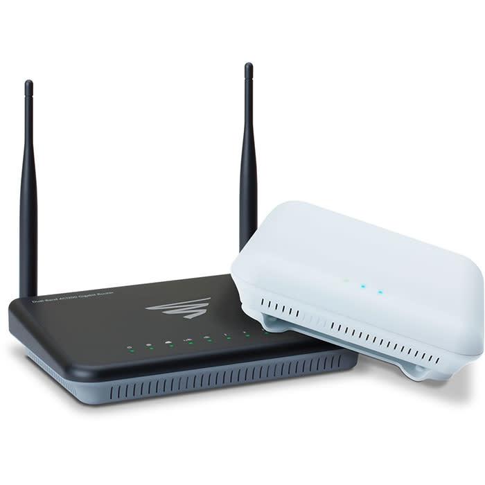 Luxul WS-80 AC1200 Whole Home WiFi System (XWR-1200 + XAP810 Bundle)
