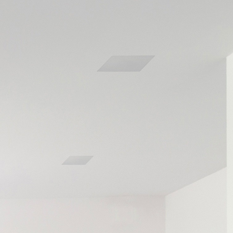 Monitor Audio CS180S Trim-less In-Ceiling Speaker with square grille
