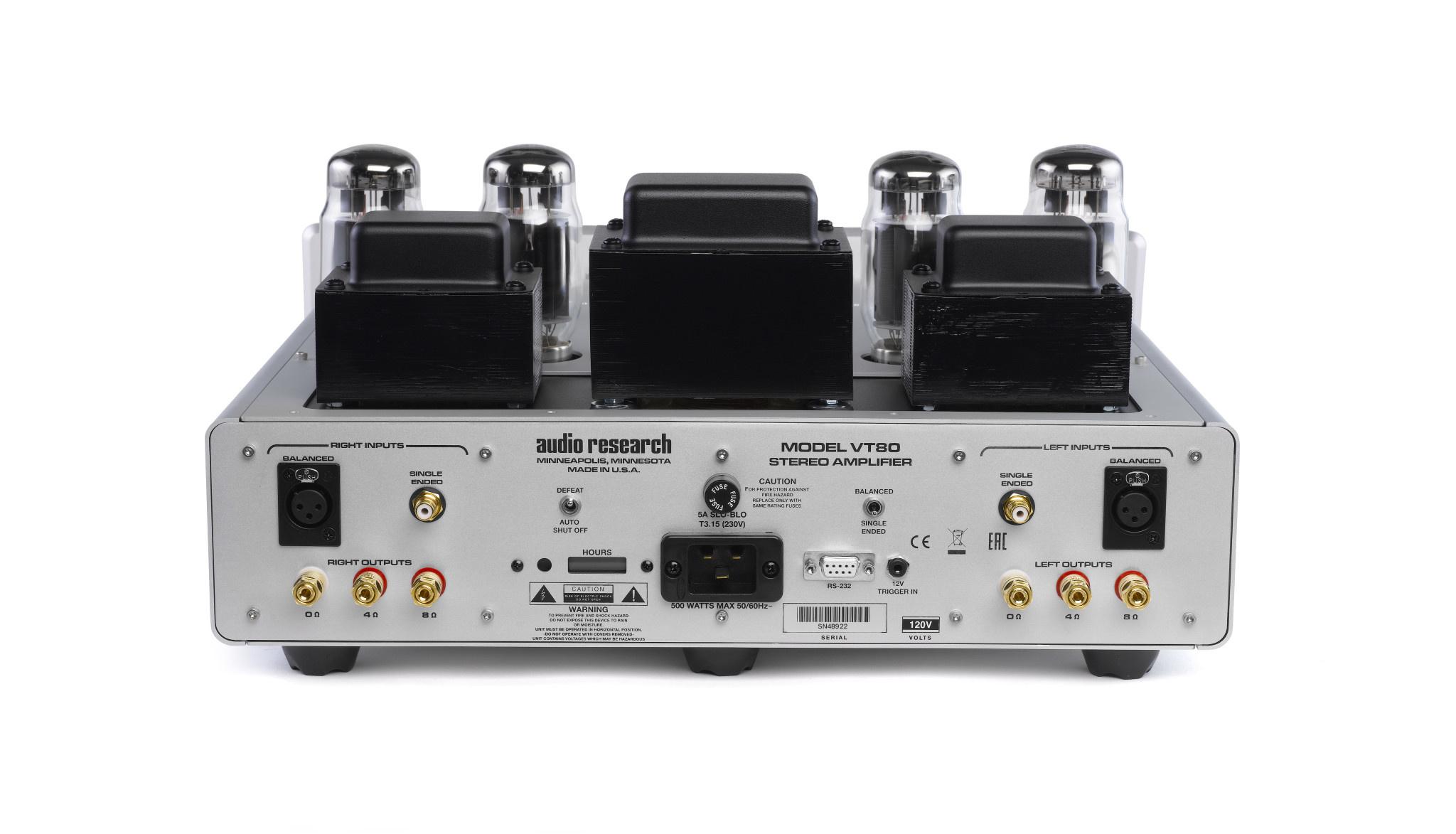 VT80SE Tube Stereo Amplifier