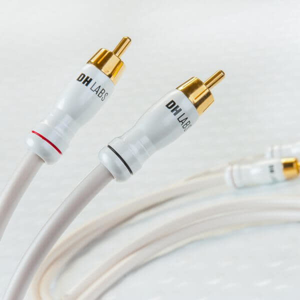 Dh Labs Silver Sonic White Lightning Rca Audio Cable