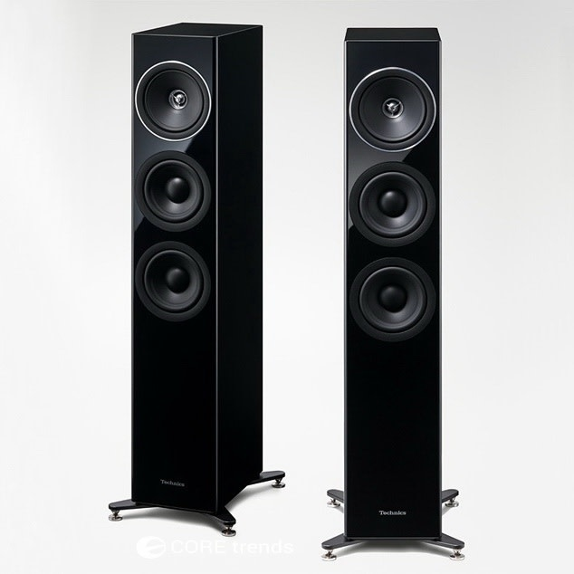 Technics SB-G90 Loudspeaker, Black ( sold each )