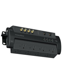 Panamax M8-AVPRO Power Conditioner, 8' Angeled Power Cord